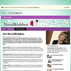 Om Novellklubben - Novellklubben