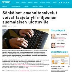 Sähköiset omahoitopalvelut voivat laajeta yli miljoonan suomalaisen ulottuville