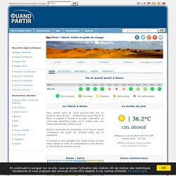Oman : Climat, météo et Guide de voyage