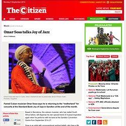 Omar Sosa talks Joy of Jazz