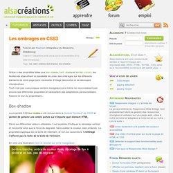 Les ombrages en CSS3 - Alsacréations