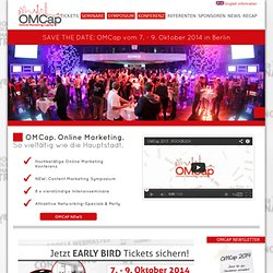 OMCap SES Berlin 2012 – Online Marketing Konferenz & Seminare