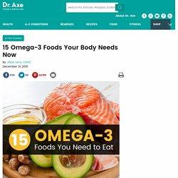 Omega-3 Foods: Top 15 Omega-3 Foods + Omega-3 Recipes
