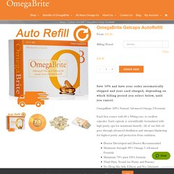 Buy Omegabrite Auto Refill Gelcaps