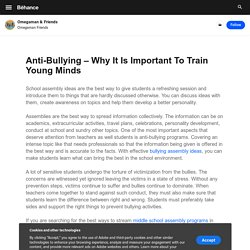 Anti-Bullying – Why It Is Important To Train Young Minds