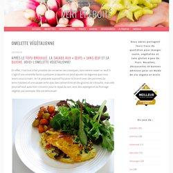 Omelette végétalienne