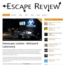 Biohazard Laboratory Exprience in Omescape