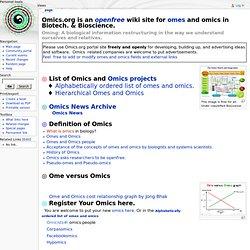 Omics - Omics.org