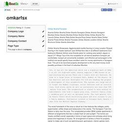 Why Explore Omkar Ananta Goregaon