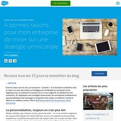 4 bonnes raisons de miser sur une stratégie omnicanale - Salesforce - Salesforce Blog France