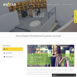How to Degree Omnichannel Customer Journey? ~ Avatardialler
