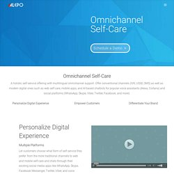 Omnichannel Self-Care