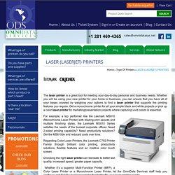 Laser (LaserJet) Printers