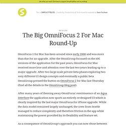 The Big OmniFocus 2 For Mac Round-Up
