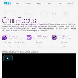 The Omni Group - OmniFocus