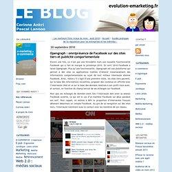 Opengraph : omniprésence de Facebook sur des sites tiers et publicité comportementale