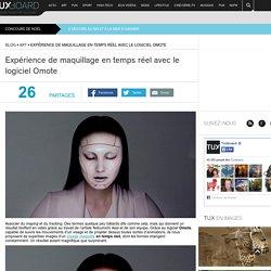 Omote : maquillage en temps réel