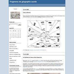 Omphalos : Fragments de géographie sacrée
