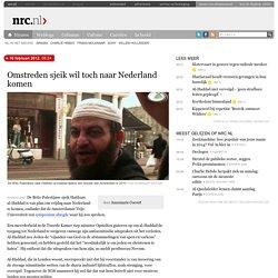 Omstreden sjeik wil toch naar Nederland komen