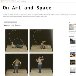 On Art and Space: Measuring Space