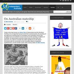 On Australian mateship