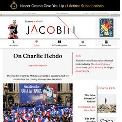 On Charlie Hebdo