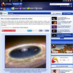 On a vu des exoplanètes en train de naître