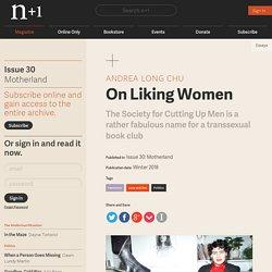 On Liking Women
