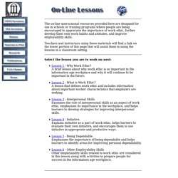 On-line Lessons