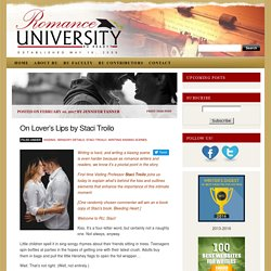 On Lover's Lips by Staci Troilo