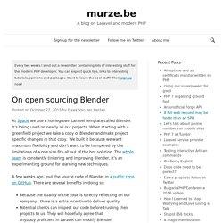 On open sourcing Blender - murze.be