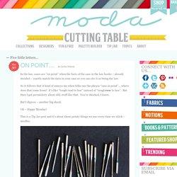On point… « modafabrics