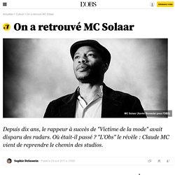 On a retrouvé MC Solaar - 23 avril 2017