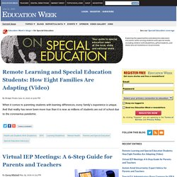 On Special Education