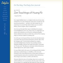 On the Way - Zen Journal