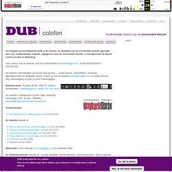 Onafhankelijk medium van de Universiteit Utrecht