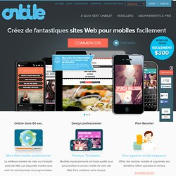 La version mobile de votre site Web