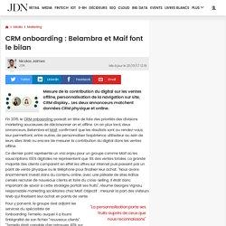 CRM onboarding: Belambra et Maif font le bilan