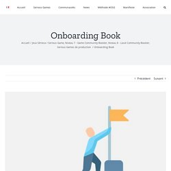 Onboarding Book – OpenSeriousGame
