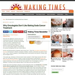 Why Oncologists Don't Like Baking Soda Cancer Treatment