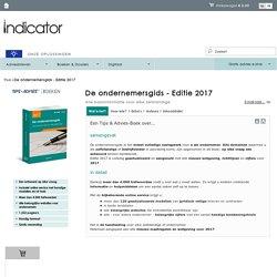 De ondernemersgids. Alle basisinformatie voor elke zelfstandige. Editie 2017.