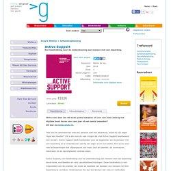 Active Support - Een handreiking voor de ondersteuning aan mensen met een beperking.