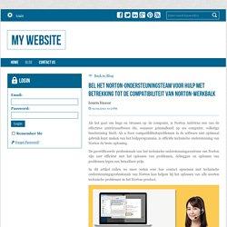 Bel het Norton-ondersteuningsteam voor hulp met betrekking tot de compatibiliteit van Norton-werkbalk - My Website : powered by Doodlekit