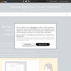 Bel het Norton-ondersteuningsteam voor hulp met betrekking tot de compatibiliteit van Norton-werkbalk - Norton Antivirus Contact Nederland