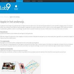 Apple in het onderwijs - Lab9 - Apple Premium Reseller