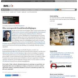 Onderwijsblog » Hbo weerspreekt fraudebeschuldigingen