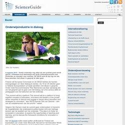 Onderwijsindustrie in dialoog - ScienceGuide