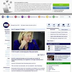 VVD kraakt onderwijsplan Bussemaker