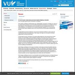 VU [URL-migrated] laat nieuwe onderzoekscommissie kwestie Nijkamp uitzoeken - [jan-mrt]