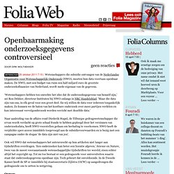 FoliaWeb: open access vs big science publishers